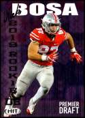 2019 SAGE Hit Premier Draft #1 Nick Bosa NM-MT Ohio State  Collegiate Football Trading Card