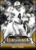 2019 Leaf Draft Flashback Gold #3 Brett Favre NM-MT  Collegiate Football Trading Card