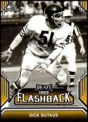 2019 Leaf Draft Flashback Gold #4 Dick Butkus NM-MT  Collegiate Football Trading Card