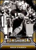 2019 Leaf Draft Flashback Gold #9 Roger Staubach NM-MT  Collegiate Football Trading Card