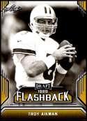 2019 Leaf Draft Flashback Gold #10 Troy Aikman NM-MT  Collegiate Football Trading Card