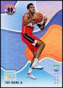 2018-19 Panini Status #196 Troy Brown Jr. NM-MT Washington Wizards  Officially Licensed NBA Basketball Trading Card