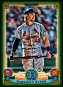 2019 Topps Gypsy Queen Green #233 Harrison Bader NM-MT St. Louis Cardinals