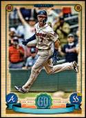 2019 Topps Gypsy Queen Missing Nameplate #208 Dansby Swanson NM-MT Atlanta Braves