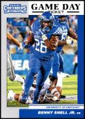 2019 Panini Contenders Draft Game Day Tickets #21 Benny Snell Jr. NM-MT Kentucky Wildcats