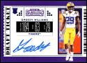 2019 Panini Contenders Draft College Draft Ticket Blue Foil #177 Greedy Williams NM-MT LSU Tigers