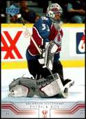 2001-02 Upper Deck #276 Patrick Roy NM-MT Colorado Avalanche  Officially Licensed NHL Hockey Trading Card
