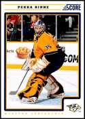 2012-13 Panini Score #266 Pekka Rinne NM-MT Nashville Predators  Officially Licensed NHL Hockey Trading Card