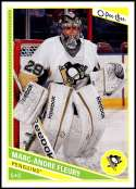 2013-14  O-Pee-Chee #152 Marc-Andre Fleury NM-MT Pittsburgh Penguins  Officially Licensed NHL Hockey Trading Card