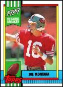 1990 Topps #1 Joe Montana NM-MT San Francisco 49ers