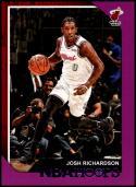 2018-19 Panini Hoops Purple #197 Josh Richardson NM-MT Miami Heat