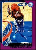 2018-19 Panini Hoops Purple #236 Amir Johnson NM-MT Philadelphia 76ers