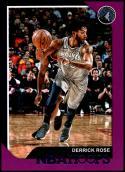 2018-19 Panini Hoops Purple #240 Derrick Rose NM-MT Minnesota Timberwolves