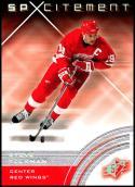 2001-02 SPx #75 Steve Yzerman NM-MT Detroit Red Wings
