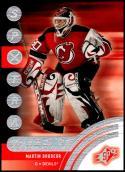 2001-02 SPx #87 Martin Brodeur NM-MT New Jersey Devils