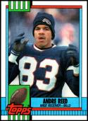 1990 Topps #204 Andre Reed NM-MT Buffalo Bills