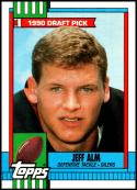 1990 Topps #211 Jeff Alm RC NM-MT Houston Oilers