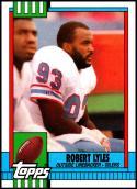 1990 Topps #212 Robert Lyles NM-MT Houston Oilers