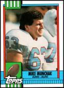 1990 Topps #214 Mike Munchak NM-MT Houston Oilers