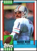 1990 Topps #216 Warren Moon NM-MT Houston Oilers