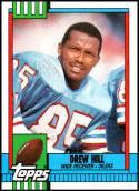 1990 Topps #217 Drew Hill NM-MT Houston Oilers