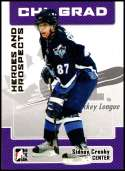 2006-07 In The Game Heroes and Prospects #24 Sidney Crosby NM-MT Rimouski Oceanic  Officially Licensed CHL Hockey Trading Card