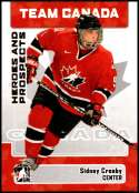 2006-07 In The Game Heroes and Prospects #147 Sidney Crosby NM-MT Team Canada Officially Licensed CHL Hockey Trading Card