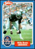 1988 Swell Greats #35 Willie Brown NM-MT Oakland Raiders