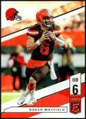2019 Panini Elite #7 Baker Mayfield NM-MT Cleveland Browns  Officially Licensed NFL Football Trading Card