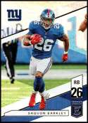 2019 Panini Elite #23 Saquon Barkley NM-MT New York Giants  Officially Licensed NFL Football Trading Card