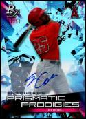 2019 Bowman Platinum Prismatic Prodigies Autographs #PPP-1 Jo Adell 17/50 NM-MT Los Angeles Angels