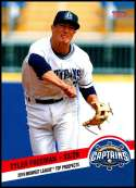 2019 Choice Midwest League Top Prospects #21 Tyler Freeman NM-MT Lake County Captains  Officially Licensed MiLB Baseball Trading Card