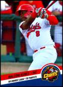 2019 Choice Midwest League Top Prospects #26 Malcom Nunez NM-MT Peoria Chiefs  Officially Licensed MiLB Baseball Trading Card