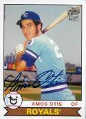 2012 Topps Archives Fan Favorites Autographs #FFA-AOT Amos Otis NM-MT Kansas City Royals