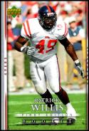 2007 Upper Deck First Edition #115 Patrick Willis RC NM-MT San Francisco 49ers