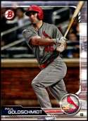 2019 Bowman #85 Paul Goldschmidt NM-MT St. Louis Cardinals  Officially Licensed MLB Baseball Trading Card