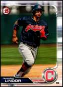 2019 Bowman #89 Francisco Lindor NM-MT Cleveland Indians  Officially Licensed MLB Baseball Trading Card