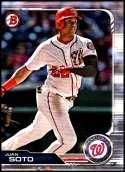 2019 Bowman #92 Juan Soto NM-MT Washington Nationals  Officially Licensed MLB Baseball Trading Card
