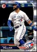 2019 Bowman #95 Kevin Pillar NM-MT Toronto Blue Jays  Officially Licensed MLB Baseball Trading Card