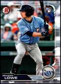 2019 Bowman #98 Brandon Lowe RC NM-MT Tampa Bay Rays  Officially Licensed MLB Baseball Trading Card