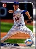 2019 Bowman #100 Jacob deGrom NM-MT New York Mets  Officially Licensed MLB Baseball Trading Card