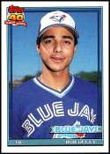 1991 Topps #101 Rob Ducey NM-MT Toronto Blue Jays  Officially Licensed MLB Baseball Trading Card