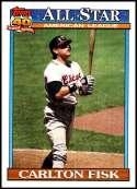 1991 Topps #393 Carlton Fisk NM-MT Chicago White Sox  Officially Licensed MLB Baseball Trading Card