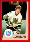 1988-89 ProCards IHL Kalamazoo Wings #NNO Joe Lockwood NM-MT Kalamazoo Wings  IHL Hockey Trading Card