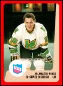 1988-89 ProCards IHL Kalamazoo Wings #NNO Mike McHugh NM-MT Kalamazoo Wings  IHL Hockey Trading Card
