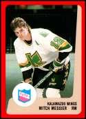 1988-89 ProCards IHL Kalamazoo Wings #NNO Mitch Messier NM-MT Kalamazoo Wings  IHL Hockey Trading Card