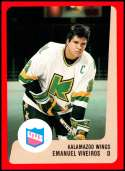 1988-89 ProCards IHL Kalamazoo Wings #NNO Emanuel Viveiros NM-MT Kalamazoo Wings  IHL Hockey Trading Card