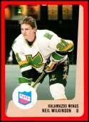 1988-89 ProCards IHL Kalamazoo Wings #NNO Neil Wilkinson NM-MT Kalamazoo Wings  IHL Hockey Trading Card