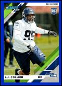 2019 Donruss Press Proof Blue #263 L.J. Collier NM-MT Seattle Seahawks