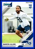 2019 Donruss Press Proof Blue #267 Dakota Allen NM-MT Los Angeles Rams